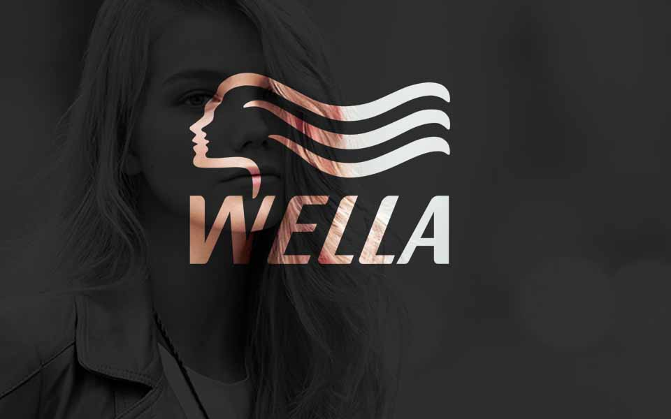 We work with Wella - Colour Lounge
